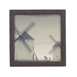 Campo de Criptana, antike La Mancha Windmühlen 2 Schachtel