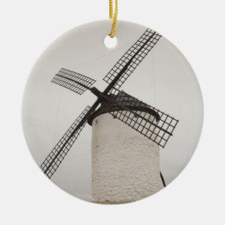 Campo de Criptana, antike La Mancha Windmühlen 3 Keramik Ornament