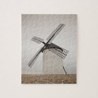 Campo de Criptana, antike La Mancha Windmühlen 3 Puzzle