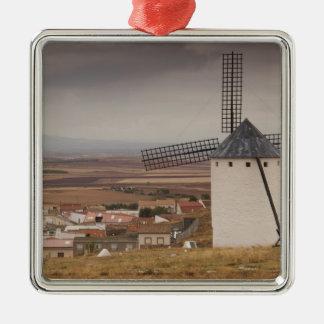 Campo de Criptana, antike La Mancha Windmühlen 4 Silbernes Ornament