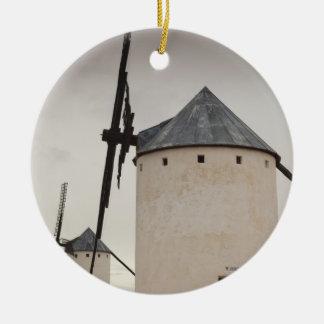 Campo de Criptana, antike La Mancha Windmühlen 5 Keramik Ornament