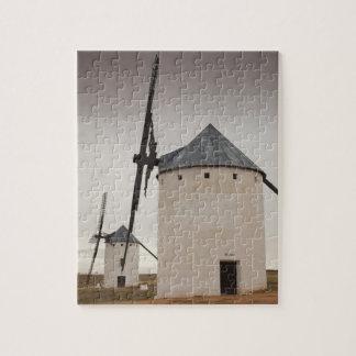 Campo de Criptana, antike La Mancha Windmühlen 5 Puzzle