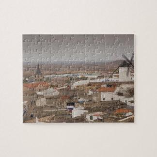 Campo de Criptana, antike La Mancha Windmühlen 6 Puzzle