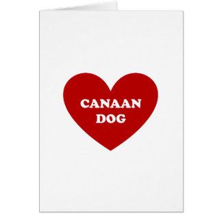 Canaan Hund Karte