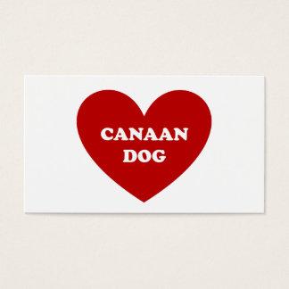 Canaan Hund Visitenkarte