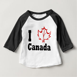 canada3 baby t-shirt