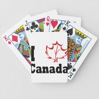 canada3 bicycle spielkarten