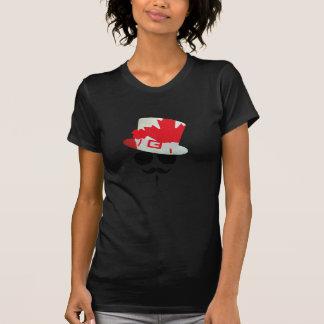 Canada-Fan with mustache T-Shirt