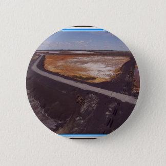 Canadiian Landschaft verunreinigten Runder Button 5,7 Cm