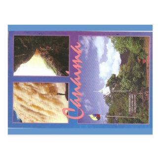 Canaima, Venezuela Postkarte