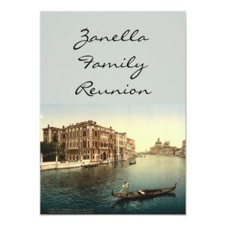 Canal Grande II, Venedig, Italien 12,7 X 17,8 Cm Einladungskarte