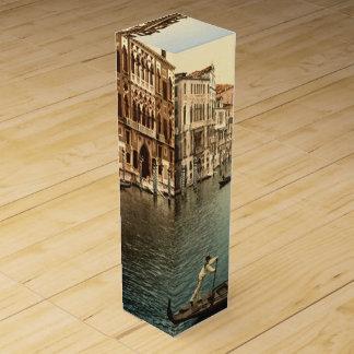 Canal Grande II, Venedig, Italien Wein-Geschenkverpackung
