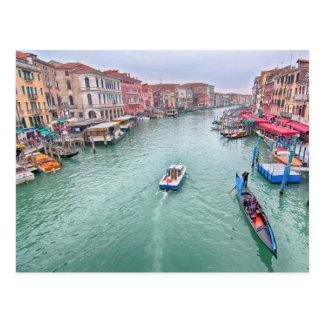 Canal Grande, Postkarte Venedigs Italien