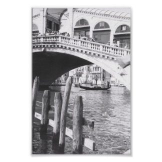 Canal Grande Rialto Brücken-Venedigs Italien Plakate