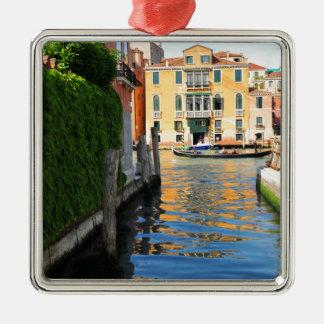 Canal Grande, Venedig, Italien Silbernes Ornament