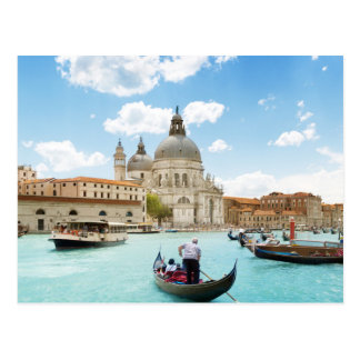 Canal Grande, Venedig-Postkarte Postkarten