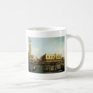 Canaletto der Pier Kaffeetasse