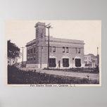 Canarsie Brooklyn New York Feuer-Motor-Haus 1910