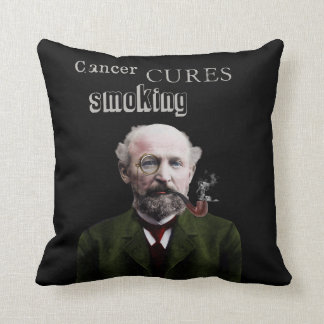Cancer Cures Smoking Kissen