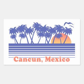 Cancun Mexiko Rechteckiger Aufkleber