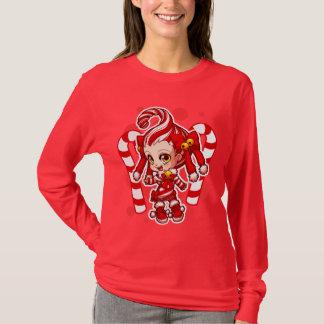 Candycane-Chan-Dunkelheits-Shirt T-Shirt