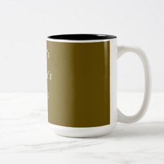 CANECA DE CAFÉ + COFFE ZWEIFARBIGE TASSE