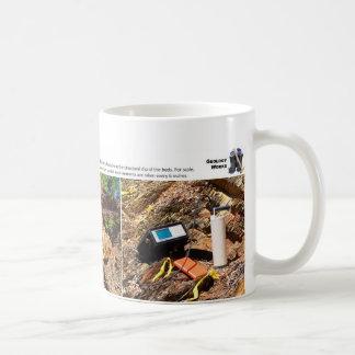 Caney Schiefer IV - Zutageliegen-Kennzeichnung Kaffeetasse