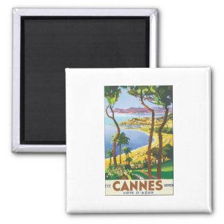 Cannes Quadratischer Magnet