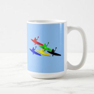 Canoeing Kyaking Kanu kyak Wassersport Kaffeetassen