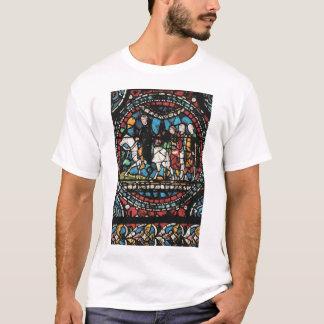 Canterbury-Buntglas-Fenster T-Shirt