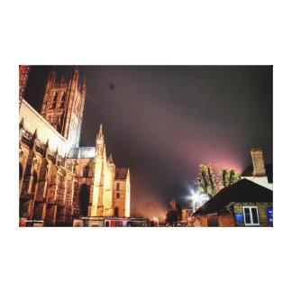 Canterbury-Kathedrale Leinwanddruck