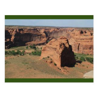 Canyon de Chelly Chinle Arizona übersehen Postkarte