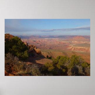Canyonlands Ansicht von der großartigen Poster