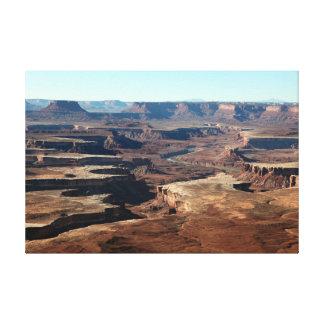 Canyonlands Nationalpark, Utah Leinwanddruck