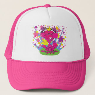 Cap Motiv: Sweet Pink  Kissing Frog Truckerkappe