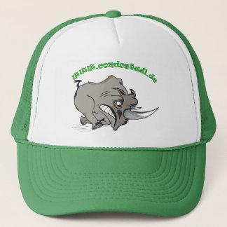 Cap wütendes Nashorn Truckerkappe