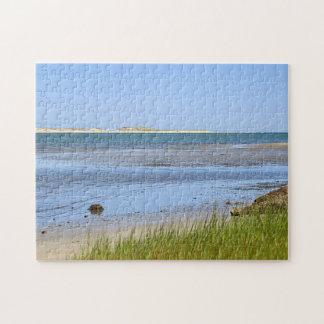 Cape Cod-Buchtozeanstrand Puzzle