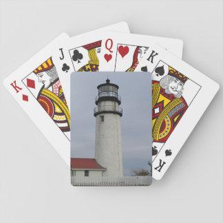 Cape Cod-Leuchtturm Spielkarten