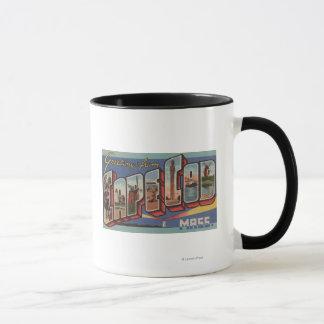 Cape Cod, MassachusettsLarge Buchstabe-Szenen Tasse