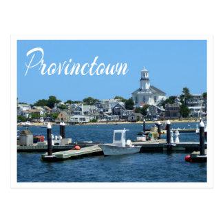 Cape Cod, Provincetown MA Postkarte