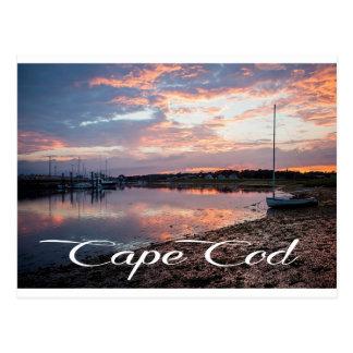 Cape Cod-Sonnenaufgang, Wellfleet, MA-Postkarte Postkarte