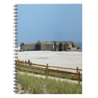 Cape May Bunker Spiral Notizblock