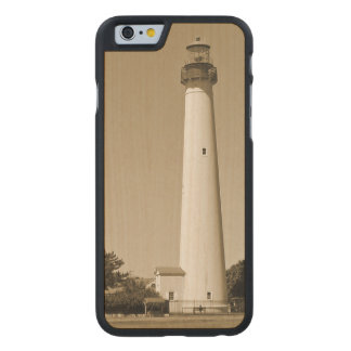 Cape May Leuchtturm Carved® iPhone 6 Hülle Ahorn