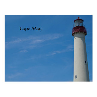 Cape May Leuchtturm Postkarte