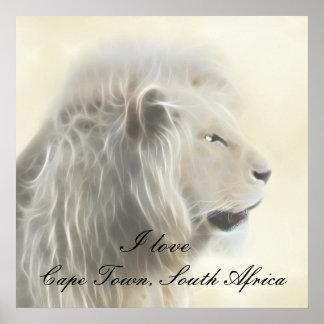 Cape Town Südafrika Poster