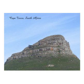 Cape Town, Südafrika Postkarte