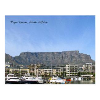Cape Town, Südafrika (Tabellen-Berg) Postkarte