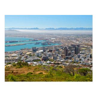 Cape Town, Westkap, Südafrika 3 Postkarte