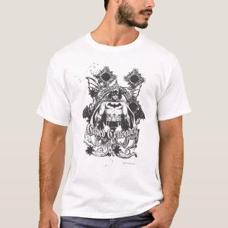 Caped Kreuzfahrer-Bild T-Shirt