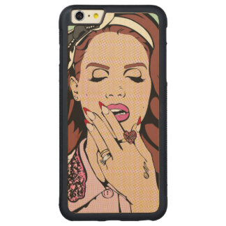 Capinha Art Pop Carved® Maple iPhone 6 Plus Bumper Hülle
